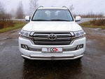 ТСС Решётка радиатора 12 мм TOYOTA Land Cruiser J200 15-